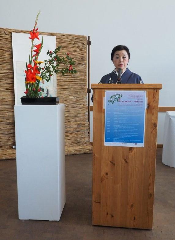 Begrüßungsrede von Generalkonsulin Frau Kikoku Kato